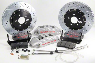 Baer Extreme Plus Rear Brake Kit - Silver (09-19 All, Excluding SRT8)