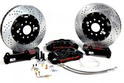 Baer Pro Plus Front Brake Kit - Black (12-19 All, Excluding SRT8)