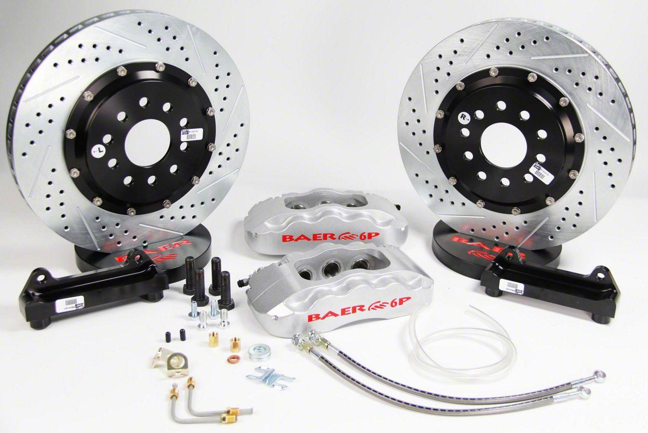 Baer Pro Plus Rear Brake Kit - Silver (09-19 All, Excluding SRT8)