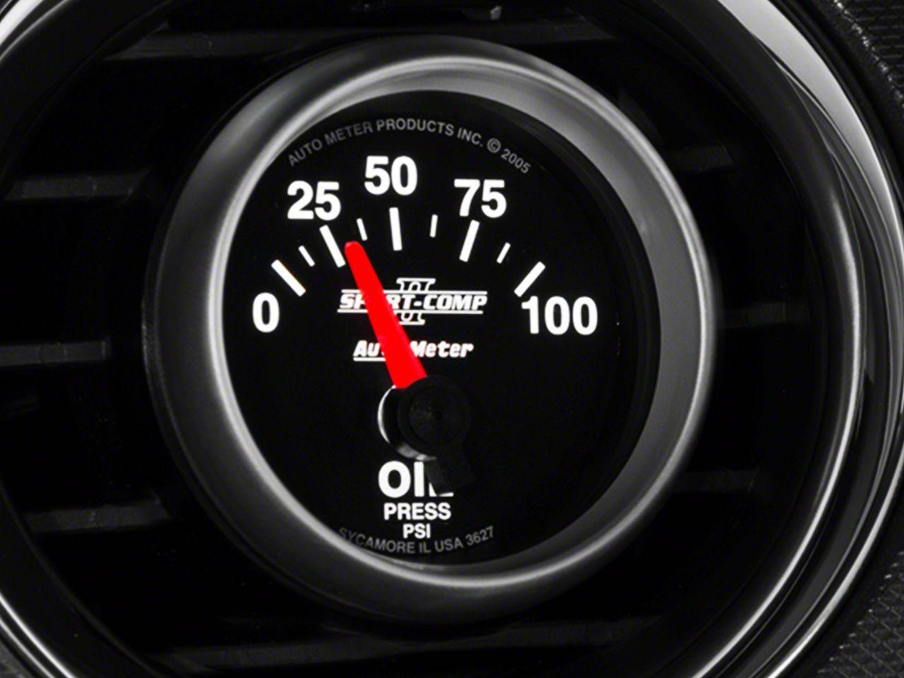 Auto Meter Sport Comp II Oil Pressure Gauge - Electrical (08-18 All)