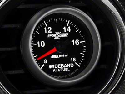 Auto Meter Sport Comp II Wideband Air/Fuel Ratio Gauge - Analog (08-19 All)