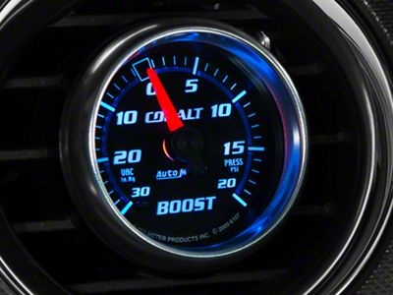 Auto Meter Cobalt 20 PSI Boost/Vac Gauge - Mechanical (08-19 All)