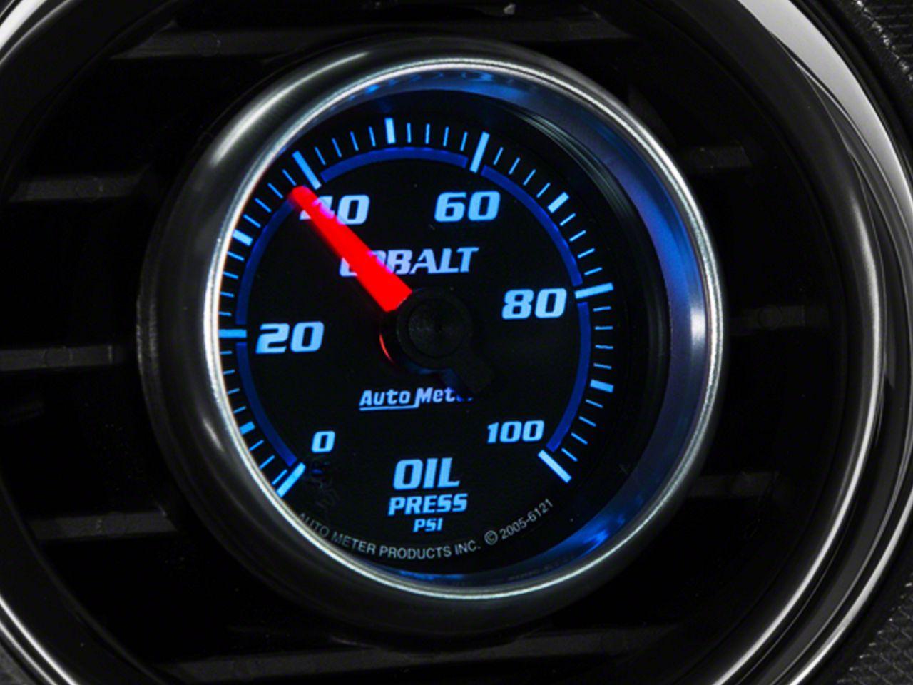 Auto Meter Cobalt Oil Pressure Gauge - Mechanical (08-18 All)