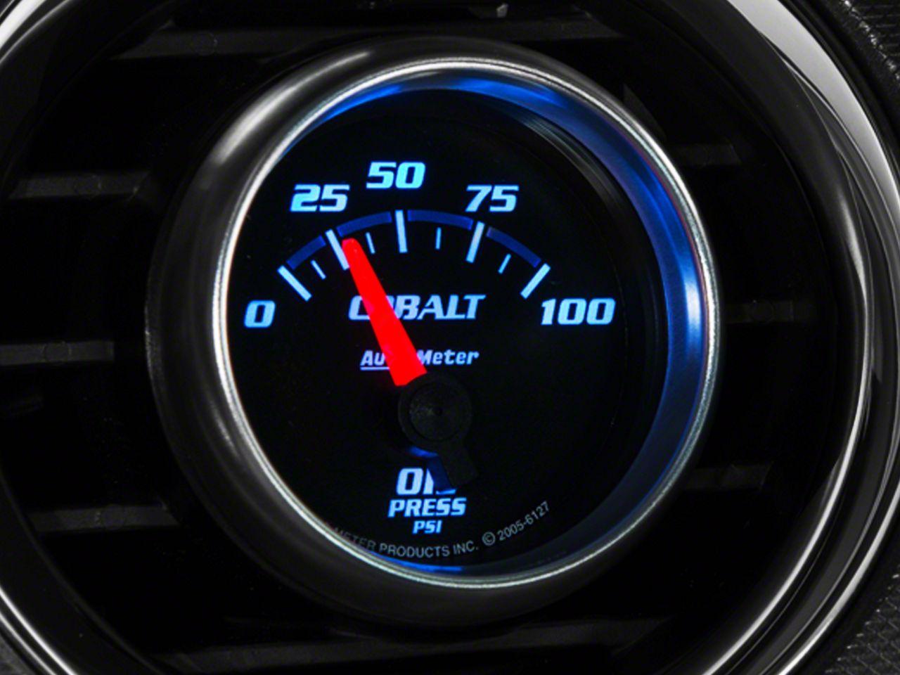 Auto Meter Cobalt Oil Pressure Gauge - Electrical (08-18 All)