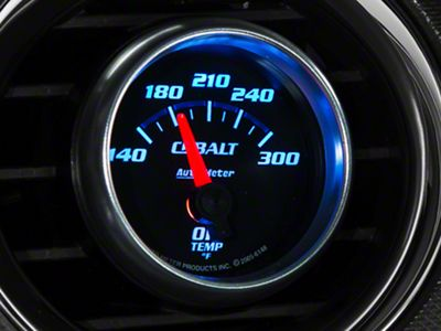 Auto Meter Cobalt Oil Temp Gauge - Electrical (08-19 All)