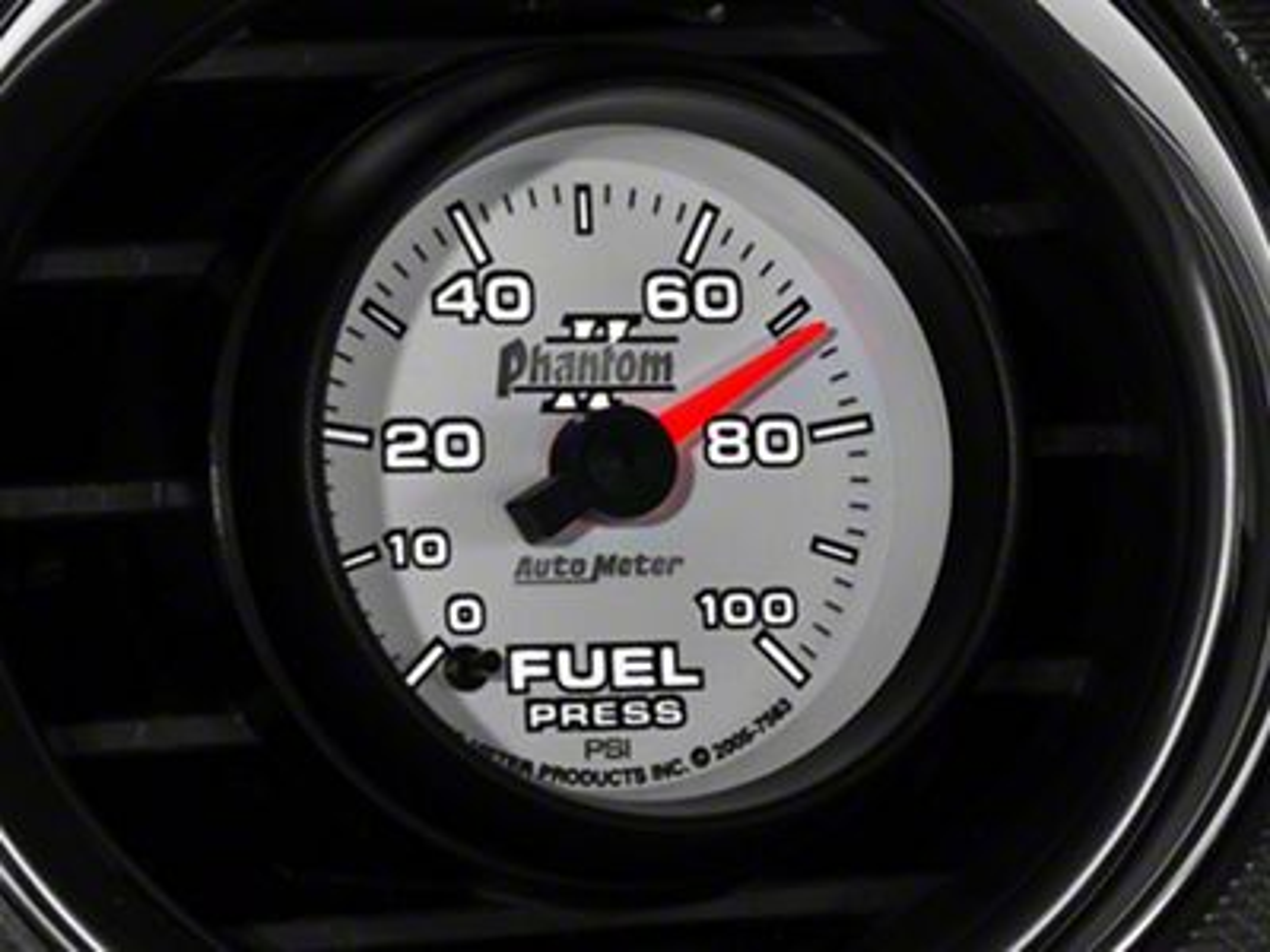 Auto Meter Phantom II Fuel Pressure Gauge - Electrical (08-18 All)