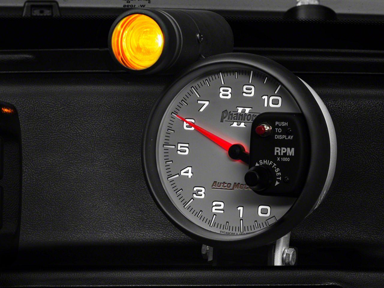Auto Meter Phantom II 5 in. Tachometer w/ Shift Light (08-18 All)