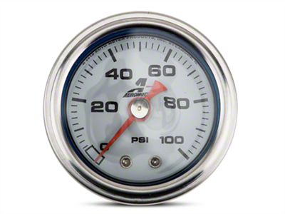 Aeromotive Fuel Pressure Gauge - Mechanical (08-19 All)