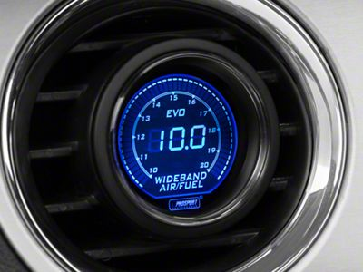 Prosport Dual Color Digital Wideband Air/Fuel Ratio Gauge - Blue/Red (08-19 All)