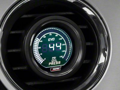 Prosport Dual Color Oil Pressure Digital Gauge - Electrical - Green/White (08-19 All)