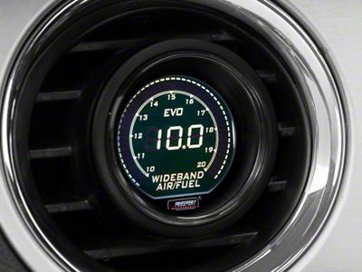 Prosport Dual Color Digital Wideband Air/Fuel Ratio Gauge - Green/White (08-19 All)
