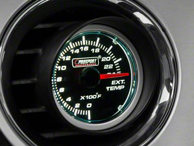 Prosport Dual Color Exhaust Gas Temperature Gauge - Blue/White (08-19 All)