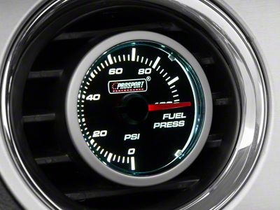 Prosport Dual Color Fuel Pressure Gauge - Electrical - Blue/White (08-19 All)