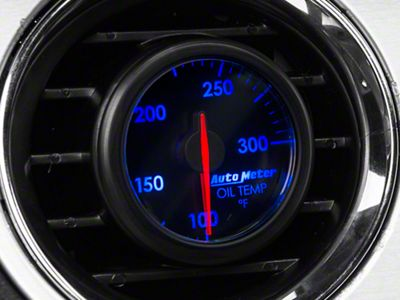Auto Meter AirDrive Oil Temperature Gauge - Electrical (08-19 All)