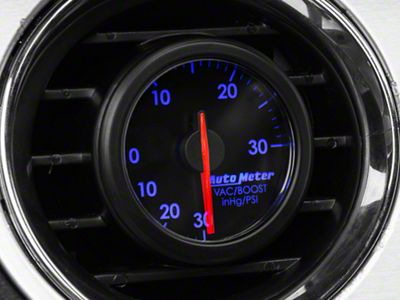 Auto Meter AirDrive Boost/Vac Gauge - Electrical (08-19 All)