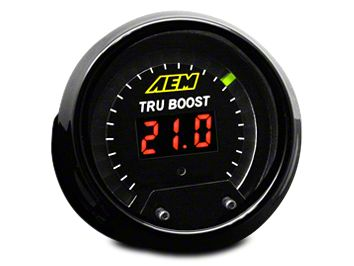 AEM Electronics Tru-Boost Controller Gauge - Electrical (08-19 All)