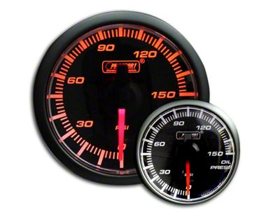 Prosport 0-150 PSI Oil Pressure Gauge (08-19 All)