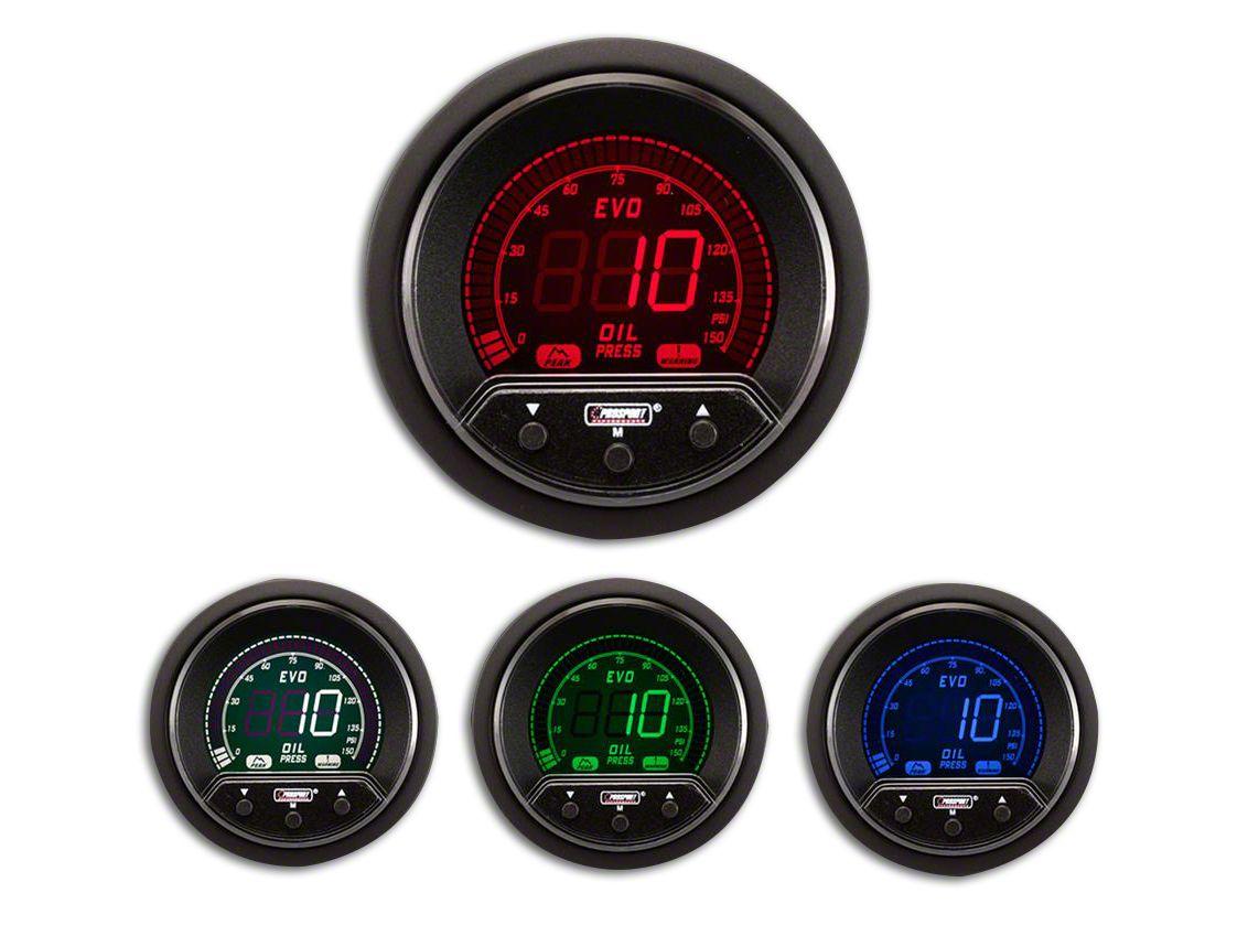 Prosport Premium Evo Oil Pressure Gauge - Electrical (08-19 All)