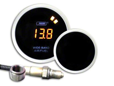 Prosport Digital Wideband Air Fuel Ratio Gauge - Amber (08-19 All)