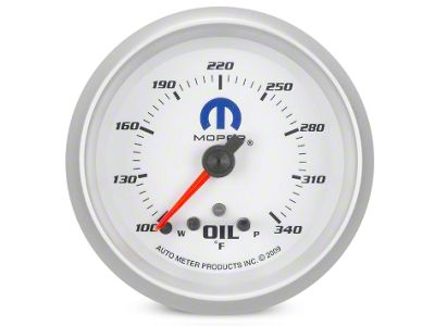 Mopar Oil Temperature Gauge - Digital Stepper Motor (08-19 All)