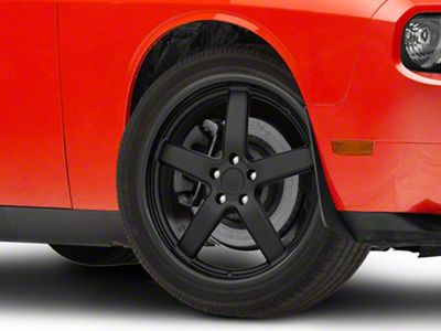 Niche Pantano Matte Black Wheel - 20x8.5 (08-19 All)