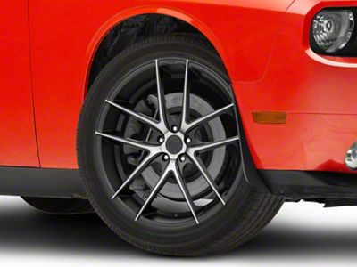 Niche Targa Black Machined Wheel - 20x8.5 (08-19 All)