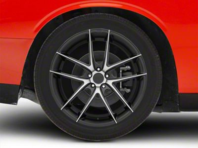 Niche Targa Black Machined Wheel - 22x10.5 (08-19 All)
