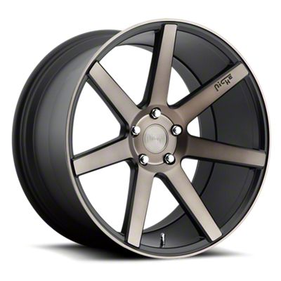 Niche Verona Black Machined Wheel - 22x9 (08-19 All)