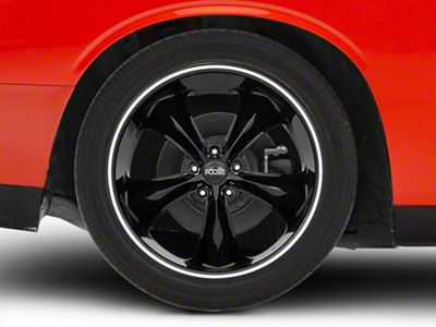 Foose Legend Black Wheel - 20x10 (08-19 All)