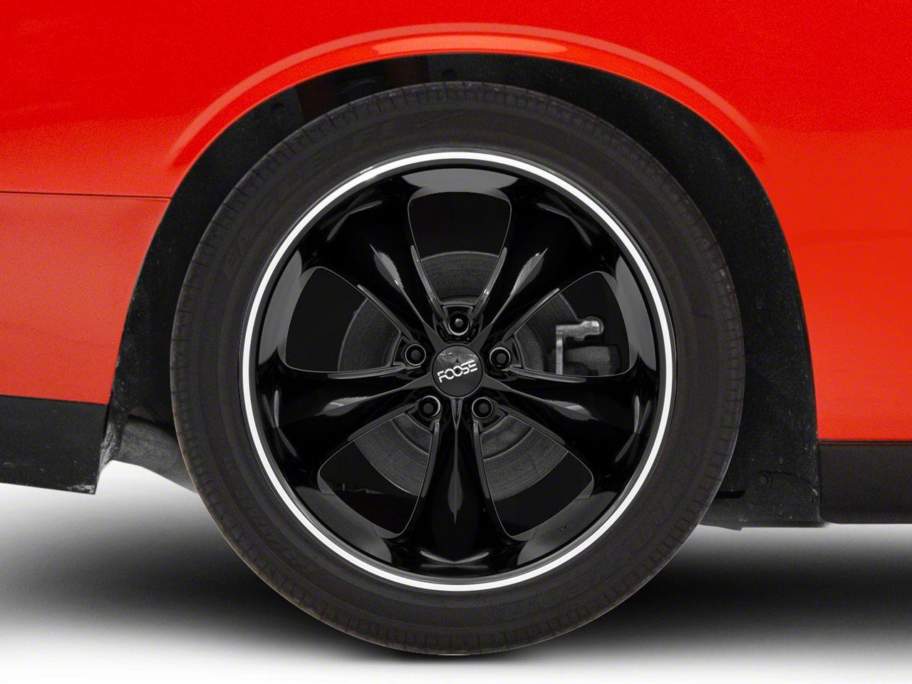 Foose Legend Black Wheel - 20x10 (08-19 All)