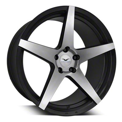 Fathom Designs Stern Satin Black Machined Wheel - 22x9 (08-19 All)