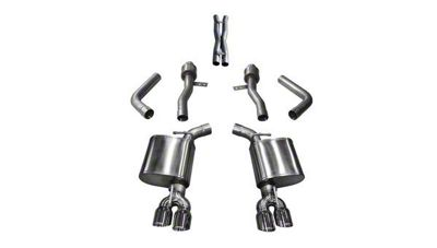 Corsa Sport Cat-Back Exhaust w/ Twin Polished RoundTips (17-19 5.7L HEMI)