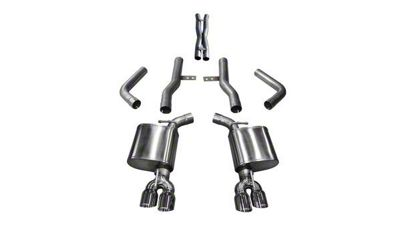Corsa Xtreme Cat-Back Exhaust w/ Twin Polished RoundTips (17-19 5.7L HEMI)