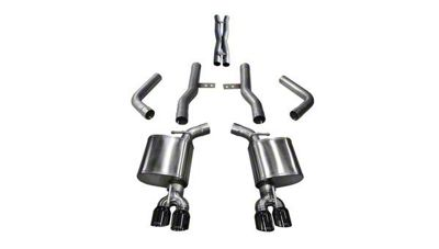 Corsa Xtreme Cat-Back Exhaust w/ Twin Black RoundTips (17-19 5.7L HEMI)