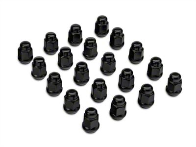 Black Lug Nut Kit - 14mm x 1.50 (08-19 All)