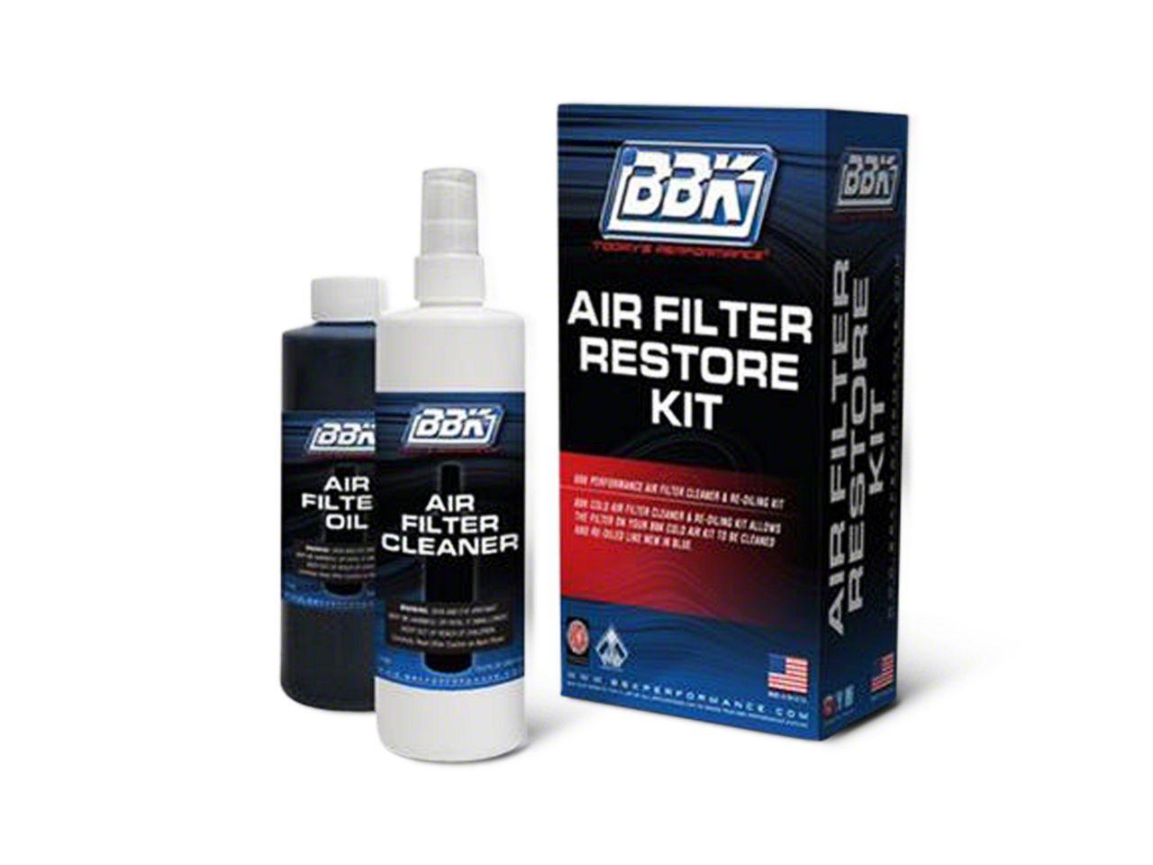 BBK Air Filter Cleaner & Re-Oil Kit