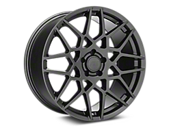 Charcoal 2013 GT500 Style Wheels<br />('05-'09 Mustang)