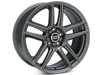 Charcoal Boss Laguna Seca Style Wheels<br />('15-'20 Mustang)