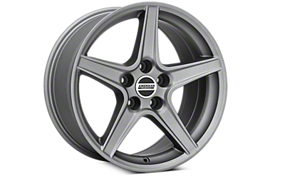 Charcoal Saleen Style Wheels 2005-2009