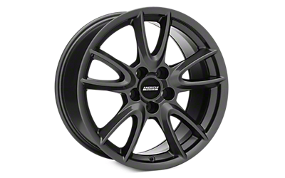 Charcoal Track Pack Style Wheels 2005-2009