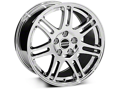 Chrome 10th Anniversary Style Wheels<br />('99-'04 Mustang)
