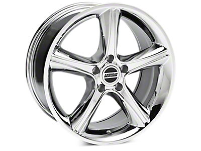 Chrome 2010 Style GT Premium Wheels<br />('79-'93 Mustang)