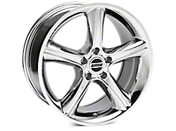 Chrome 2010 GT Premium Style Wheels<br />('94-'98 Mustang)
