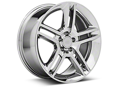 Chrome 2010 GT500 Style Wheels<br />('94-'98 Mustang)