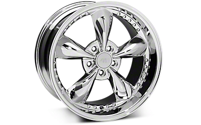 Chrome Bullitt Motorsport Wheels 2005-2009