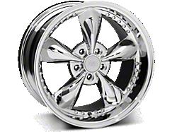 Chrome Bullitt Motorsport Wheels<br />('94-'98 Mustang)