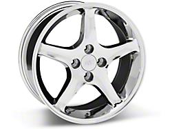 Chrome 1995 Cobra R Wheels<br />('99-'04 Mustang)