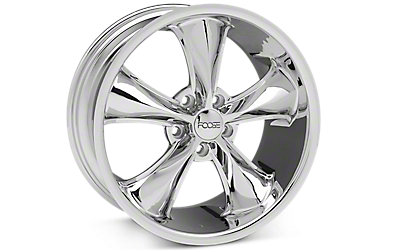 Chrome Foose Legend Wheels 2005-2009
