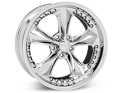 Chrome Foose Nitrous Wheels<br />('05-'09 Mustang)