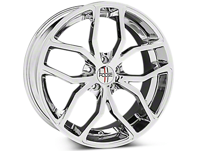 Chrome Foose Outcast Wheels<br />('05-'09 Mustang)